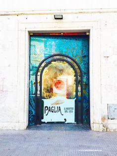 Krapfen Paglia   https://aladyinrome.com/2017/02/17/%EF%BB%BFa-winter-walk-in-lido-di-ostia-with-lady/ #krapfen #ostia #breakfast #rome #visitrome #aladyinrome