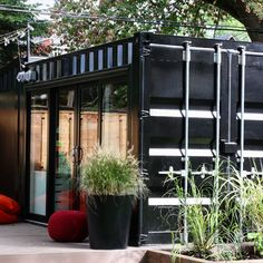 Glasshaus container model 20-28 for HGTV Backyard Builds