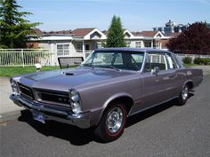 1965 PONTIAC GTO..I helped set one up for street racing , We beat a Hemi Charger first time out..