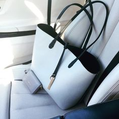 Reversible Quentin Tote #Handbags #Tote Dusters, Tote Handbags, Michael Kors Jet Set, Shoulder Strap, Pouch, Pocket, Tote Bag, Leather, Style