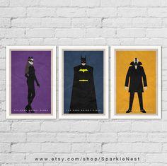 Batman Posters. Batman Art Prints. The Dark Knight by SparkleNest