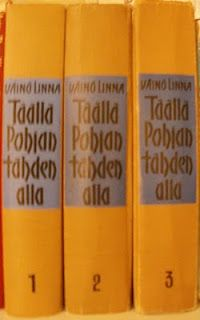 100 kirjaa: Väinö Linna - Täällä Pohjantähden alla / Under the northern star ***** World Of Books, Teenage Years, Old Books, Love Reading, Authors, All About Time, Nostalgia, Memories, Times