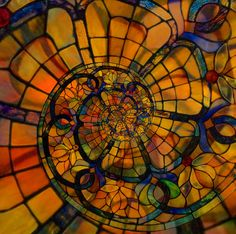 Recursive Stained Glass by gadl, via Flickr
