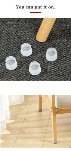 Kitchen Chairs, Patio Chairs, Dining Room Chairs, Metal Bistro Chairs, Chair Repair, Floor Protectors For Chairs, Transparent Design, Furniture Legs, Table Legs