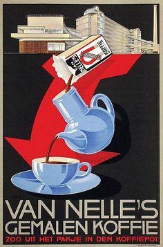 Guten Morgen! :) Van Nelle's Gemalen Koffie #Werbung