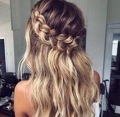 Hair braid idea xo