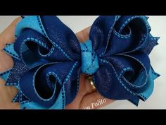 Diy Hair Bows, Making Hair Bows, Diy Bow, Hair Bow Tutorial, Flower Tutorial, Rainbow Loom Charms, Ribbon Sculpture, How To Make Ribbon, Boutique Hair Bows