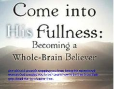God wants you to be a Whole Brain Believer. Read how in this excellent new book.