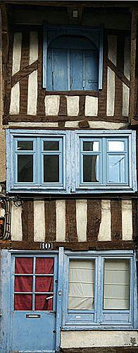 A Casa Mais Estreita de Rennes  France