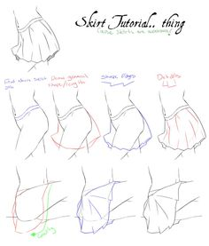 Quick Skirt Tutorial by XxrenxX on deviantART