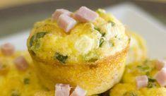 Muffins aux poireaux et jambon WW, recette de savoureux muffins salés, facile et simple à réaliser pour accompagner vos plats de viande et de poisson.