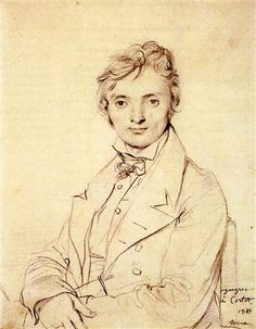 Jean Pierre Cortot - Jean Auguste Dominique Ingres