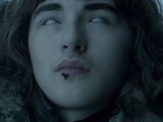O ator Isaac Hempstead Wright, que interpreta Bran Stark, em cena de teaser da sexta temporada de 'Game of thrones' (Foto: Reprodução/YouTube/Game of thrones)