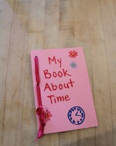 Activities: Time Book About the Day