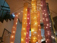 Oriental Cotton Hanging lights