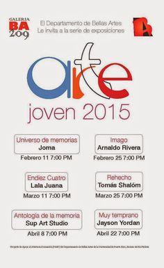 PUERTO RICO ART NEWS: Calendario de Exposiciones de la Galería 209 del D...