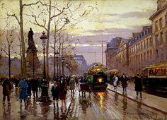 Place de la Republique, de Edouard Leon Cortes