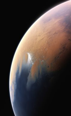 Ancient Oceans on Mars. It is now widely accepted that Mars was once a very wet place. About four  billion years ago Mars would have had enough water to  cover its entire surface in a liquid layer about 140 metres deep. It is likely that the liquid would have pooled to form an ocean  occupying almost half of Mars's northern hemisphere, and in some regions  reaching depths greater than 1.6 kilometres.