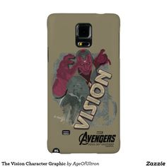 The Vision Character Graphic Galaxy Note 4 Case