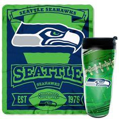 Seattle Seahawks NFL Mug N' Snug Gift Set