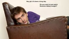 "Lol! (this tumblr has nothing but   David Tennant ""hey girl"" memes... so much better than Ryan Gosling.)"