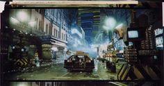 Blade Runner – street-scene matte painting set-up | Simotron