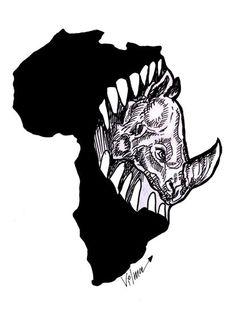 Vilma Vargas  (2015-11-01)   Mining and rhinos in Africa