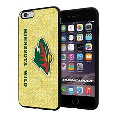 "NHL HOCKEY Minnesota Wild Logo, Cool iPhone 6 Plus (6+ , 5.5"") Smartphone Case Cover Collector iphone TPU Rubber Case Black Phoneaholic http://www.amazon.com/dp/B00VTW6LHE/ref=cm_sw_r_pi_dp_1HKnvb10B4M09"