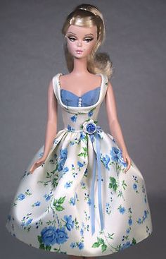 Starlight Roses Vintage Barbie Doll Silkstone Barbie Fashion Dress Clothing | eBay