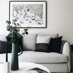Another stunning shot of our Lisa Sofa by @bowerbirdinteriors Our showroom is open till 4pm today! #scandinaviandesign #danishdesign #interiordesign #furnituredesign #urbancouturedesigns