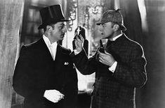 Old school Sherlock & Watson