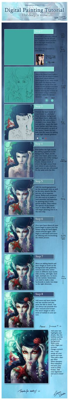 Digital Painting Tutorial by =sanguisGelidus on deviantART