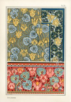 1000 images about pillard verneuil eugene grasset on for Pochoir prints for sale