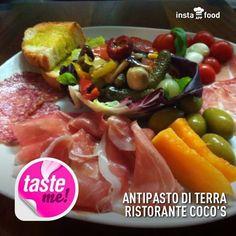 Antipasto DI terra. Coco's - Pizza e Cucina Mediterranea - Tarquinia Lido (Vt) 338/6064127