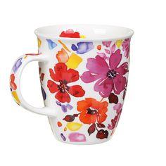 Dunoon Firenze Red Nevis Shape Mug   Temptation Gifts