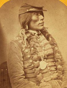 Ute man, circa 1871 | Flickr - Photo Sharing!