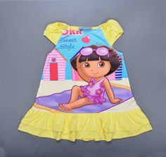 Find More Dresses Information about 2016 summer girl clothing dress Anime Dora pattern princess dress fashion girl Layered Dress brand Dora girl party dress clothes,High Quality dress baby clothes,China dresses sears Suppliers, Cheap clothes style from Kids1688 on Aliexpress.com