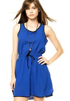 Vestido Azul -