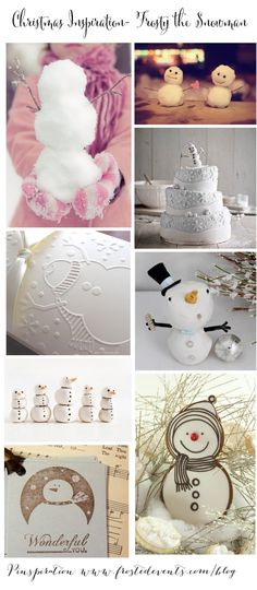 Christmas Inspiration- Frosty the Snowman  Christmas ideas for trimming the tree & decking the halls, holiday decor, recipes, crafts   #christmas #holiday #decorate