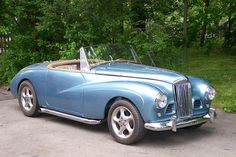 1954 sunbeam-talbot alpine. slightly modified.