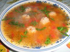 Ciorba de perisoare (reteta traditionala) Romania, Soups, Salsa, Curry, Ethnic Recipes, Food, Sweet 16 Makeup, Sweet Makeup, Fine Dining