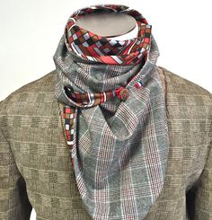 #AutomneHiver #WeTwo #Foulard #Laine #Gris