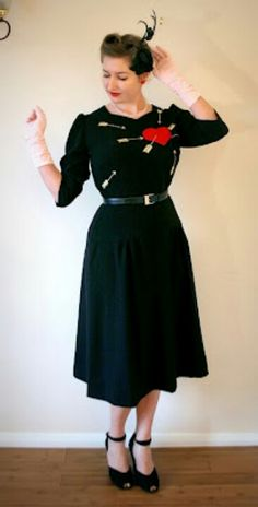Valentine dress from great website tuppence hapenny....... LOVE!!!  LOVE THIS SOOOO Much!!!!