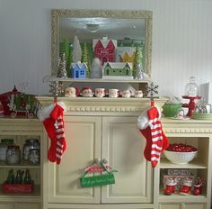 My family room at Christmas