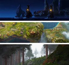 How To Train Your Dragon - Scenery