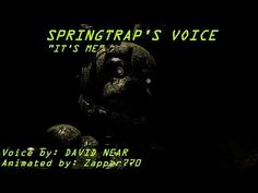 [SFM FNaF] Springtrap's Voice - YouTube Fnaf Song, William Afton, The Voice, Animation, Songs, Youtube, Movie Posters, Film Poster, Animation Movies
