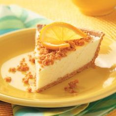Lemon Cheesecake Pies Recipe -I've been making these scrumptious pies for at least 50 years. There's little cleanup, and kids and adults alike love the lemony, fluffy filling. —Lorraine Foss, Puyallup, Washington