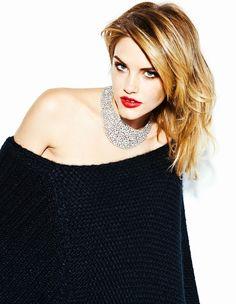 Jewel Rock: Ashley Smith by Hicham Riad for Elle Belgium December 2011