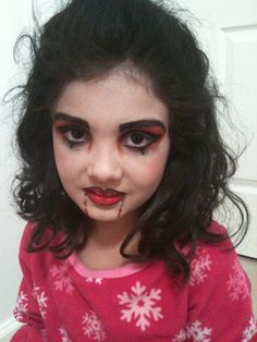 Child vampire makeup idea for halloween | Crafts and Sewing ...