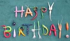 Happy Birthday medley, green